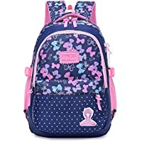 New Large Schoolbag Cute Student School Backpack Printed Waterproof bagpack Primary School Book Bags for Teenage Girls Kids|School Bags|Luggage & Bags