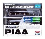 PIAA ( ピア ) LEDデイタイムランプ 【Deno-i 3】 ブルー12連 12V 2個入り L-223B