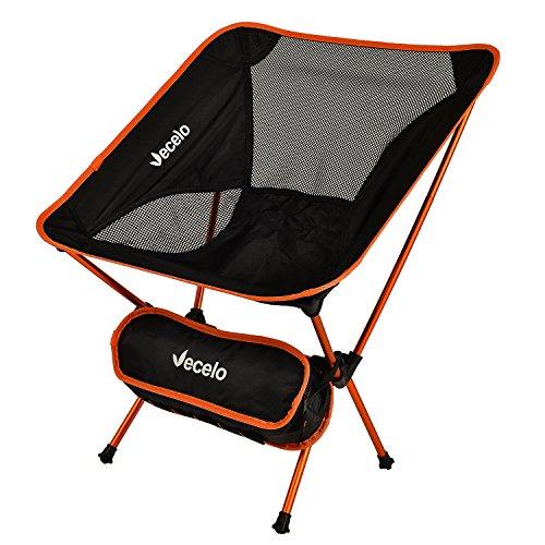 VECELO (べセロ) アウトドアチェア 折りたたみ 超軽量 組み立て式チェア キャンプ椅子 アル...