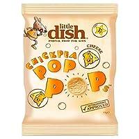 (Little Dish (少し料理)) ヒヨコマメのポップは、チーズ17グラムをポップ (x2) - Little Dish Chickpea Pop Pops Cheese 17g (Pack of 2) [並行輸入品]