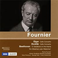 ピエール・フルニエ (Dvorak, Elgar: Cello Concertos / Beethoven: 12 Variations)