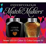 Cuccio MatchMakers Veneer & Lacquer - Crown Jewels - 0.43oz / 13ml Each