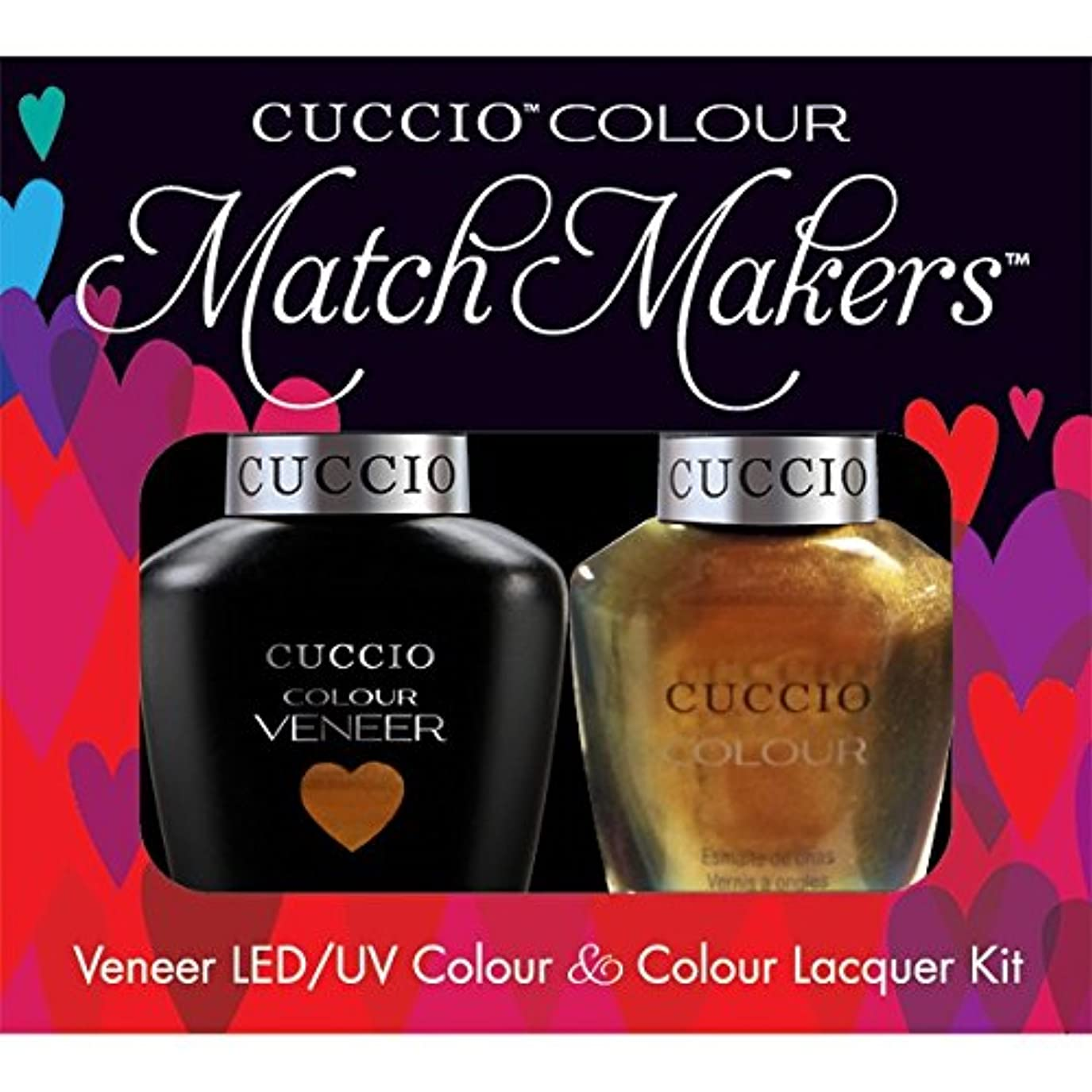 親密なモードリン窓Cuccio MatchMakers Veneer & Lacquer - Crown Jewels - 0.43oz / 13ml Each