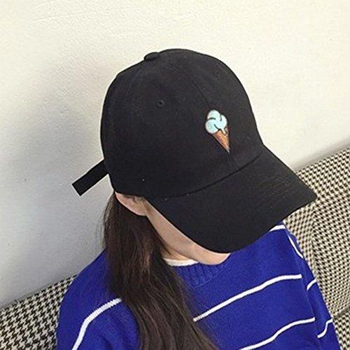 (デイリー スウィート)Daily Sweet  2017 帽子 刺繍 キャップ レディース かわいい アイスクリーム柄