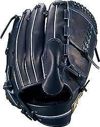 ZETT(ゼット) 野球 軟式 グラブ (グローブ) ネオステイタス ピッチャー 右投用 Nブラック(1900N) BRGB31911