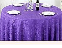 BIからジムへ テーブルクロス防水、滑り止め、オイルルーフ、掃除が簡単、テーブルフラッグ、カバータオル、キャビネットフラッグ、ベッドフラグ (Color : Round-300cm, サイズ : F)