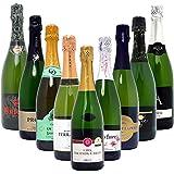 本格シャンパン製法だけの厳選泡9本セット((W0S918SE))(750mlx9本ワインセット)