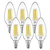 シャンデリア電球 E12 口金 40W形相当 電球色 led電球 E12 シャンデリアled 密閉形器具対応 2年保証