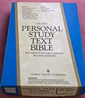 Holy Bible/Personal Study Text Bible/Revised Standard Version/Black