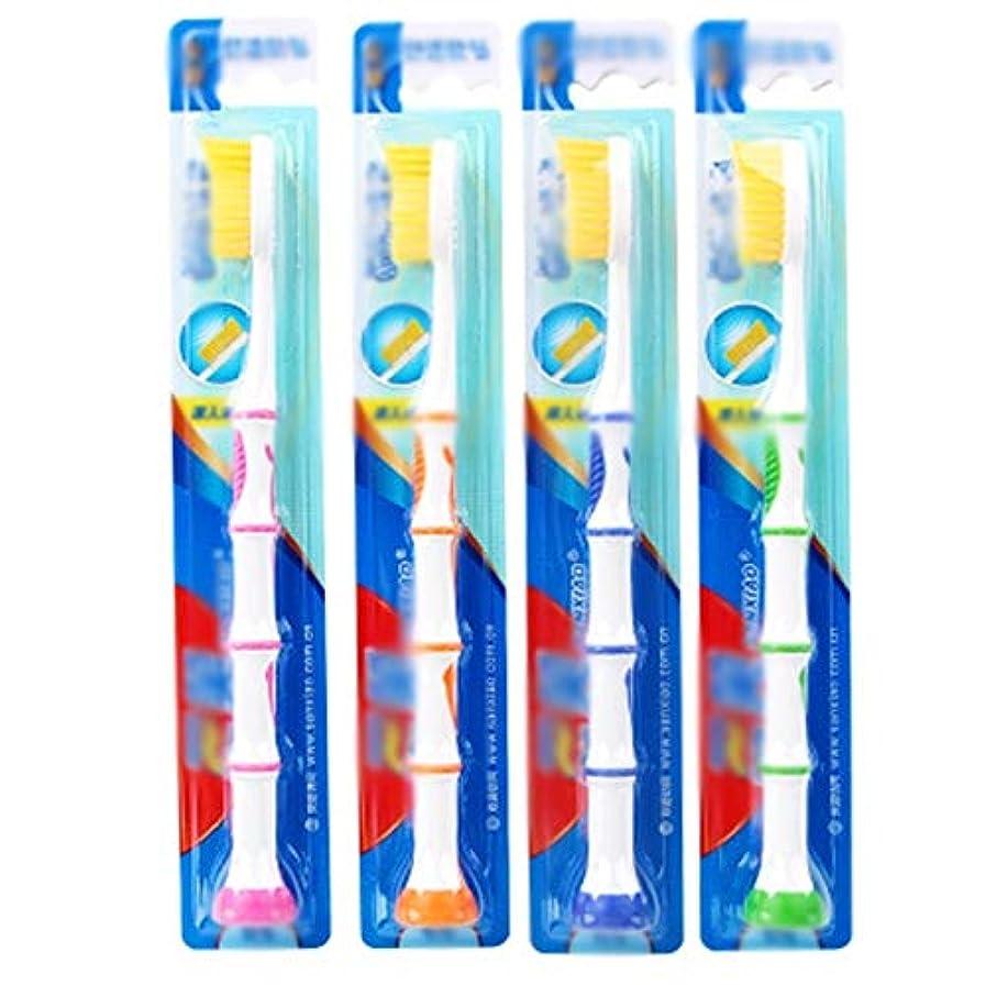探す擬人化試験歯ブラシ 30パック歯ブラシ、家族バルク大人歯ブラシ、旅行歯ブラシ、オーラルケア - 使用可能なスタイルの5種類 HL (色 : B, サイズ : 30 packs)