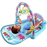 ピアノジム 赤ちゃんおもちゃ ベビープレイマット アクティビティジム あそびいっぱいプレイグラウンド ベビー用品