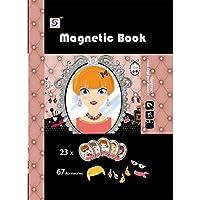 RaiFu 子供のための初期の教育おもちゃ漫画磁気ステッカーの部分ブロックにマッチする3Dジグソーパズルの服 メイクアップパズル8726-19