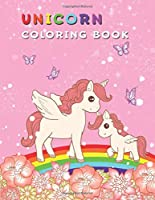 Unicorn Coloring Book: Fantasy Unicorn with Wings | Cute Activity Book for Girls Ages 4-8 to Practice Creativity and Imagination