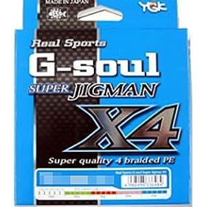 よつあみ(YGK) ライン G-SOUL スーパーJIGMAN X4 300M 1.5号(25LB)