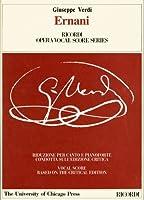 Ernani Voice Piano (Ricordi Opera Vocal Score)