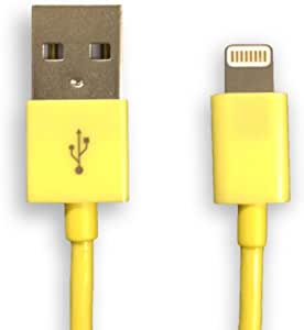 Lightning Cable for iPhone5 / iPhone5S / iPhone5C 0.3m (黄色)