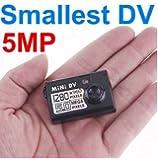 UYIKOO 超コンパクトデジタルムービーカメラ MINI DV (MDV-2)  HD高画質 超小型 ハイビジョン HDビデオ&カメラ 8GB