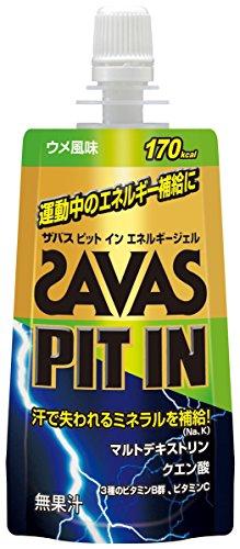 ザバス(SAVAS) ピットインリキッド ウメ風味 68g