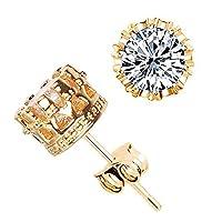 レディースチェーンピアスシンプルなファッションダイヤモンドの耳スタッドピアス女性のジュエリーレディースチェーンピアス
