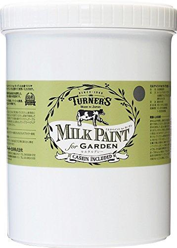 RoomClip商品情報 - ターナー色彩 アクリル絵具 ミルクペイント for ガーデン モルタルグレー MKG12331 1.2L