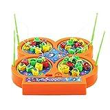 Best 子供のための電子玩具 - ゴシレ Gosear 電子ミニ回転釣りゲームのおもちゃセット3年間以上の子供のための磁気魚の音楽玩具ランダムカラー Review