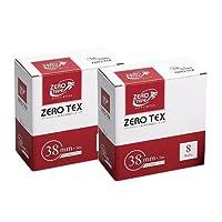 ユニコ ゼロテープ ゼロテックス キネシオロジーテープ (UNICO ZERO TEX KINESIOLOGY TAPE) 38mmx5mx8巻入り x2箱セット