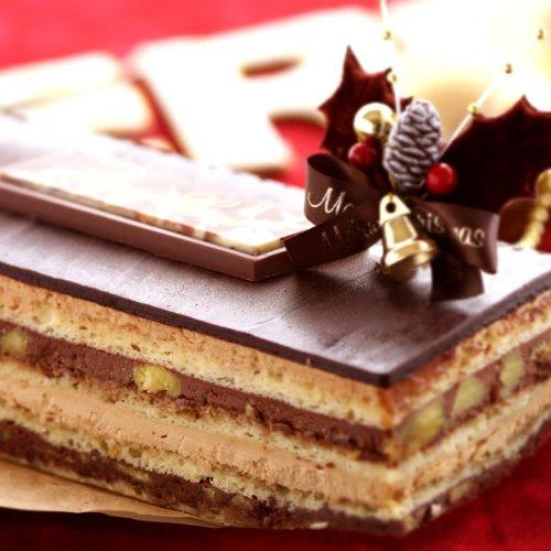 クリスマスケーキ予約 チョコレートケーキ 黄金のオペラ