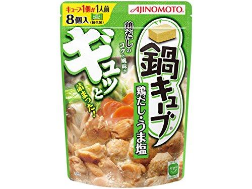 味の素 鍋キューブ 鶏だし・うま塩 58g×3個...