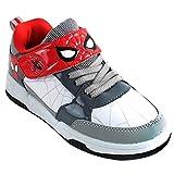 [スパイダーマン] Spider-Man キッズ 男の子 レッド グレー スニーカー シューズ 運動靴 [並行輸入品]