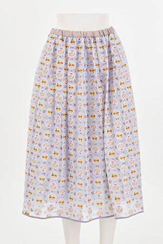 (フランシュリッペ)franche lippee まんまるバスケットねこスカート