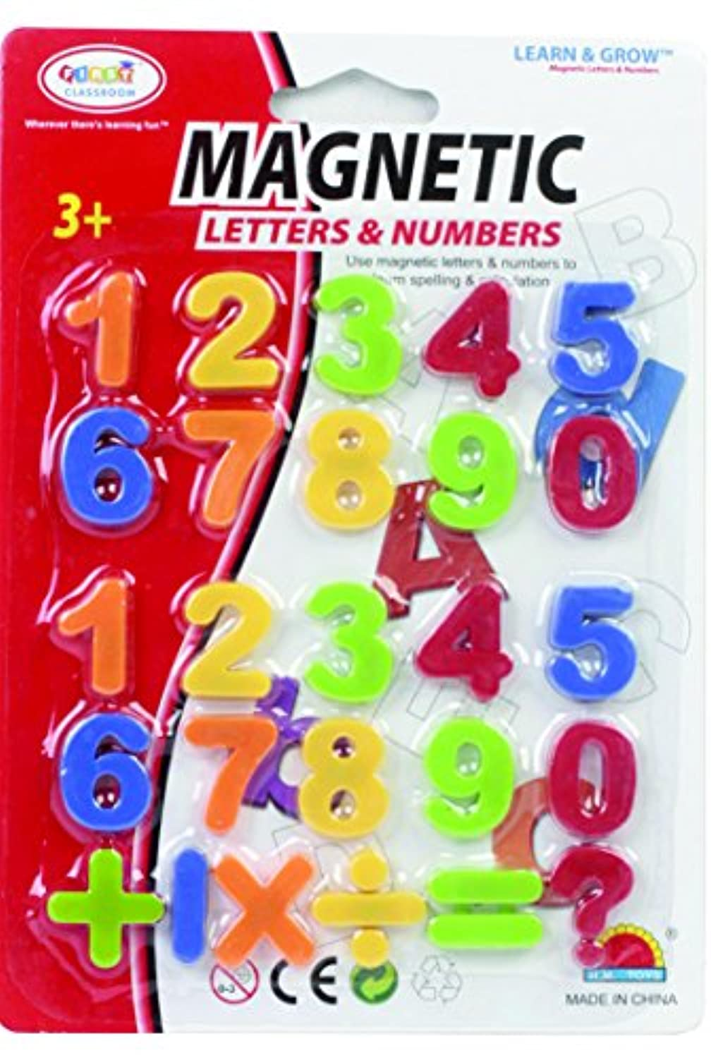 [ファーストクラスルーム]First Classroom Magnetic Numbers & Symbols in a Blister Card, 1 1171c [並行輸入品]
