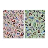 ポケモンセンターオリジナル A4クリアファイル2枚セット Contents of Trainer's bag GR_PL
