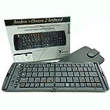 フリーダム 週間アスキー掲載品 iOS専用ボタン搭載 JIS配列 【Freedom i-Connex 2 Keyboard】英国デザイン iPhone / iPad対応 Bluetooth折りたたみ式ワイヤレスキーボード