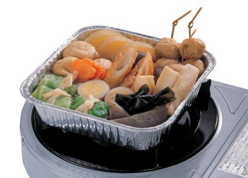 キャプテンスタッグ バーベキュー用 食器 鍋 使い捨て アルミ角型なべ2枚組M-6652