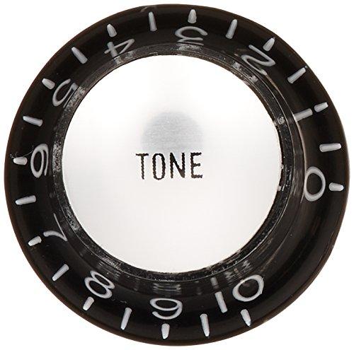 SCUD ハットノブ メタルトップ トーン ミリサイズ ブラック/シルバーキャップ KB-130T