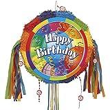 Brilliant Balloons Pinata, Pull String ブリリアント バルーン 誕生日 ピニャータ くす玉 [並行輸入品]