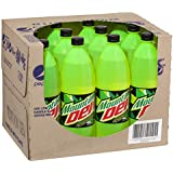 Mountain Dew Energised Soft Drink, 12 x 1.25L