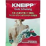 クナイプ・ジャパン クナイプグーテエアホールング バスソルト ウィンターグリーン&ワコルダー 40g(医薬部外品)