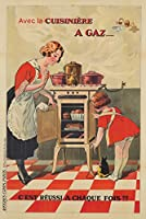 Cuisiniere a Gazヴィンテージポスター(アーティスト: Dorfinant )フランスC。1918 16 x 24 Giclee Print LANT-74049-16x24