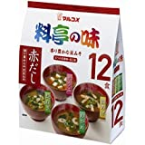 マルコメ お徳用 料亭の味みそ汁赤だし 12食×12個