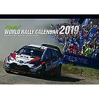 [ WRC ] WORLD RALLY CALENDAR 2019 ワールドラリーチャンピオンシップ オフィシャル カレンダー 壁掛け用