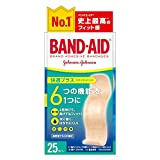 BAND-AID(バンドエイド) 救急絆創膏 快適プラス スタンダード 25枚