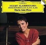 Piano Sonatas Kv310 333 & 545 by MARIA JOAO PIRES (1989-11-01)