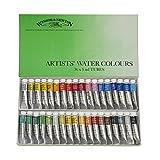 ウィンザー&ニュートン 水彩絵具 ウィンザー&ニュートン プロフェッショナル ウォーターカラー 36色セット 5ml
