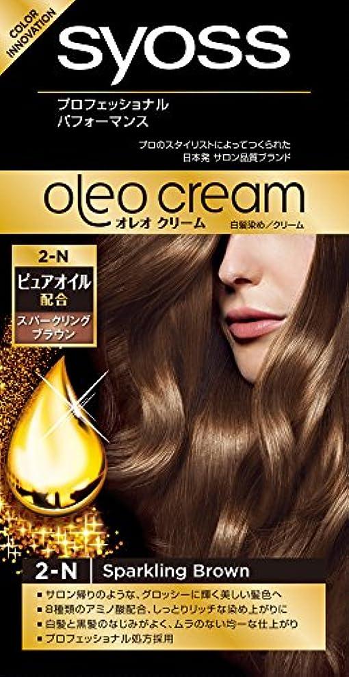 神の無能あまりにもサイオス オレオクリーム 白髪染め 2N スパークリングブラウン
