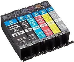 キヤノン BCI-351XL+350XL/6MP(大容量) 6色セット対応 ジットリサイクルインク JIT-NC3503516PXL(FFP・封筒パッケージ)
