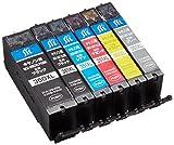 ジット キャノン(Canon) 対応 リサイクル インクカートリッジ BCI-351XL+350XL/6MP(大容量) 6色セット対応 JIT-NC3503516PXL