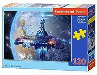 """Castorland """" Alien Spaceship """"パズル( 120ピース)"""