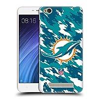 オフィシャル NFL カモフラージュ マイアミ・ドルフィンズ ロゴ Xiaomi Redmi 4a 専用ハードバックケース