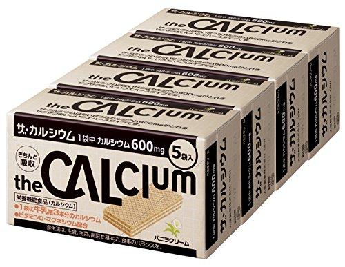 大塚製薬 ザ・カルシウム バニラクリーム (10.5g×5袋)×4箱